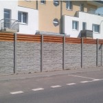 Betonový plot snadno a rychle